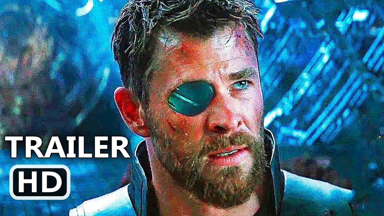 Avengers Infinity War Thor Stop Thanos Trailer 2018 Superhero