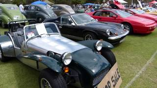 Lotus cars at the All British Day Sth Australia 2013