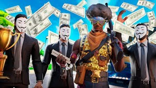 💸 3 HACKERS Contract to Win VICTORIES in Fortnite and *HACKED THE GAME* 😱