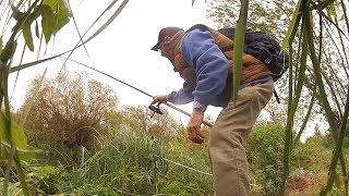 Backpack Fishing With 2 Rods