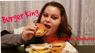 Burger King Mukbang(Eating show)