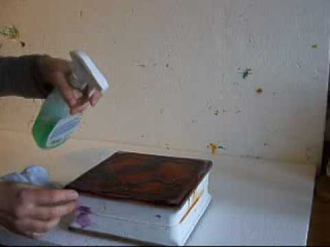 Painted Glass Blocks - Cleaning