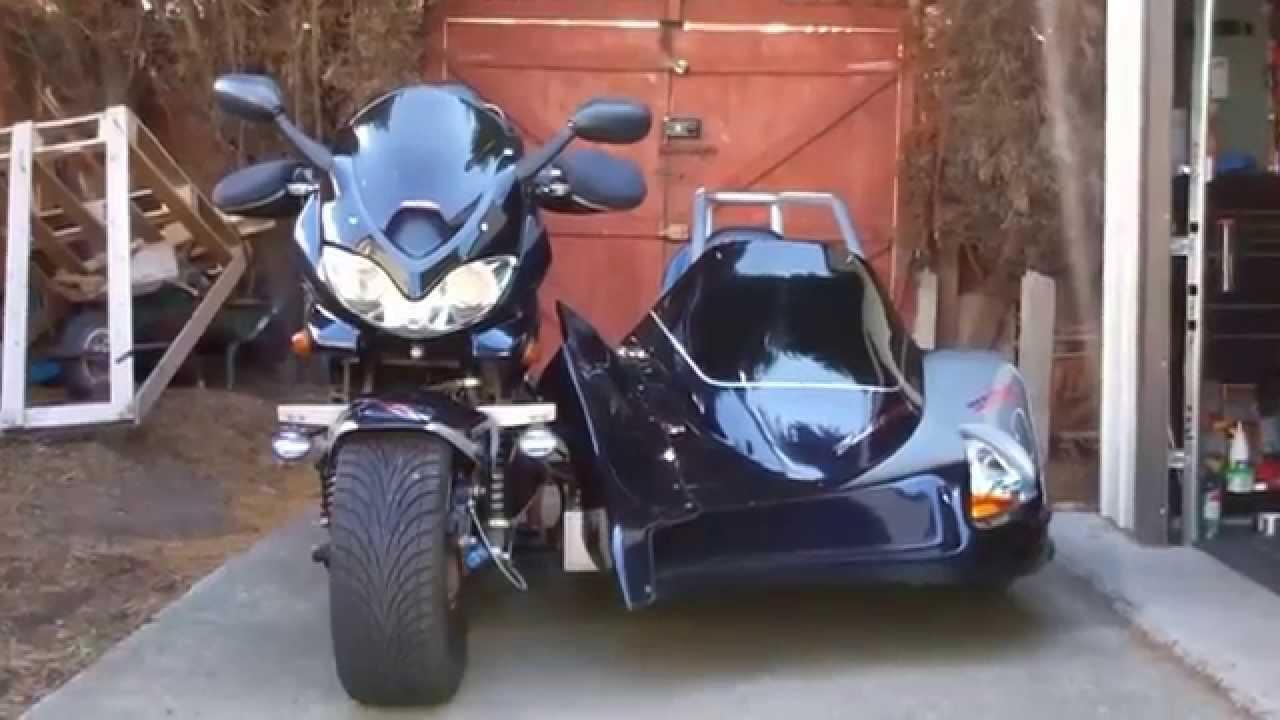 Bandit Merlin Sidecar Montage Youtube