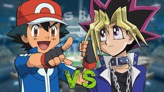 Ash Ketchum vs Yugi Muto. Épicas Batallas de Rap del Frikis...