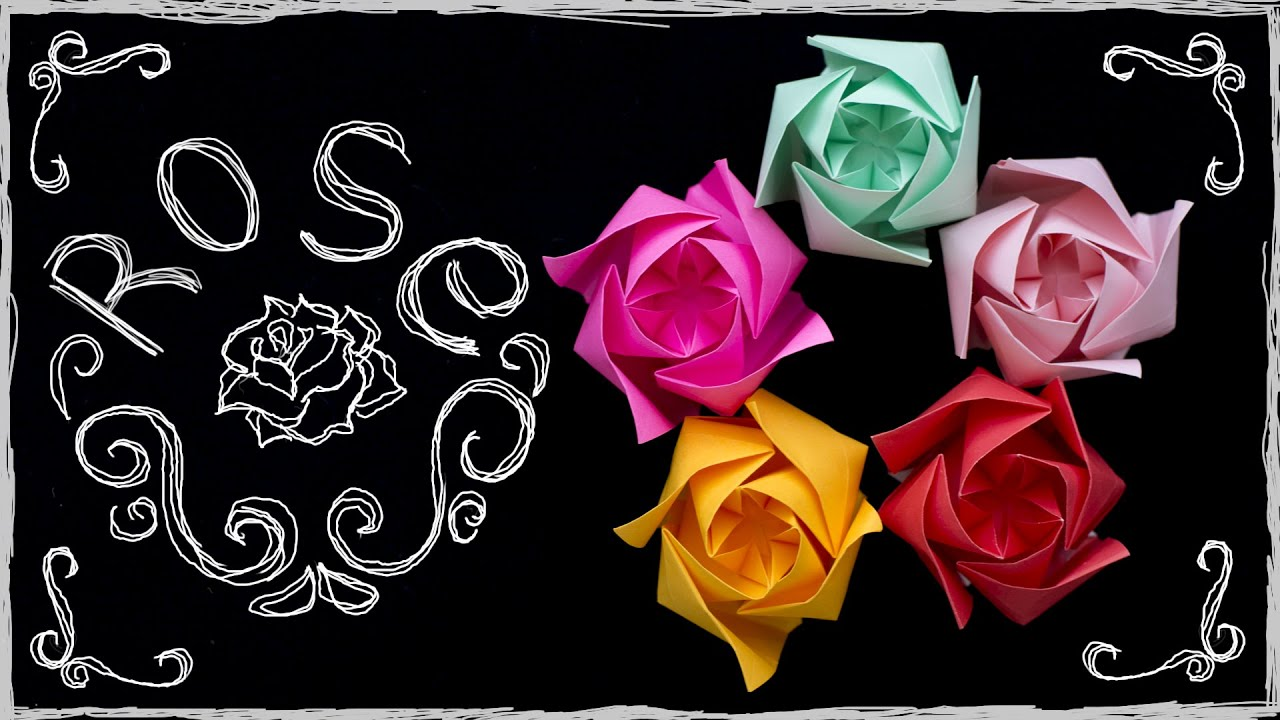 Origami rose easy how to make paper rose origami flower simple origami rose easy how to make paper rose origami flower simple youtube mightylinksfo