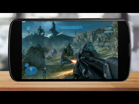 Halo Reach Android Phone Gameplay