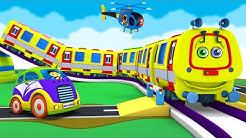 Toy Factory Cartoon Caterpillar Train for Kids - Choo Choo Caroon Cartoon