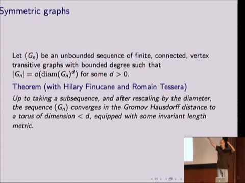 Graph vs Euclidean metric - Itai Benjamini