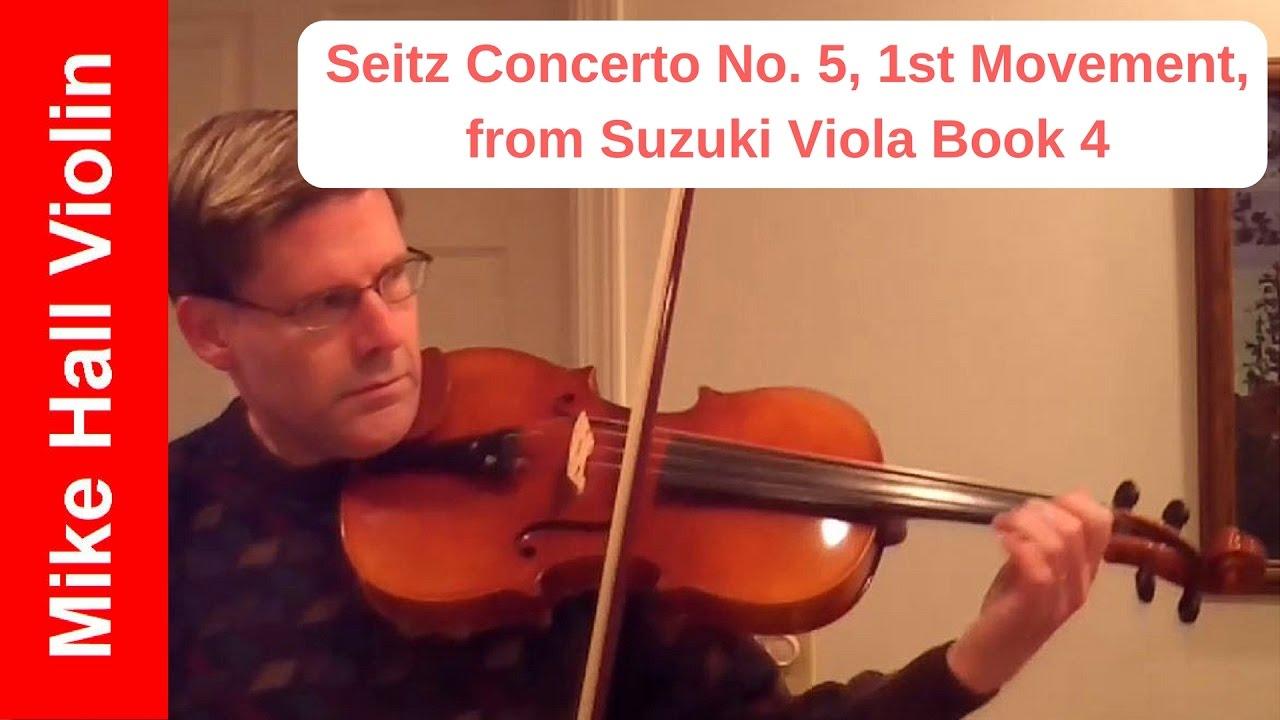Concerto No  Seitz Suzuki Viola