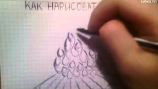 Как нарисовать костёр(Учимся рисовать Если видео было полезно - поставь лайк! рисование, графика, живопись, как рисовать, как..., 2014-08-05T10:14:16.000Z)