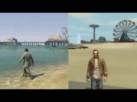 No, GTA V is much better than GTA IV