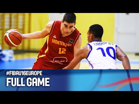 France v Montenegro - Full Game - FIBA U16 European Championship 2016