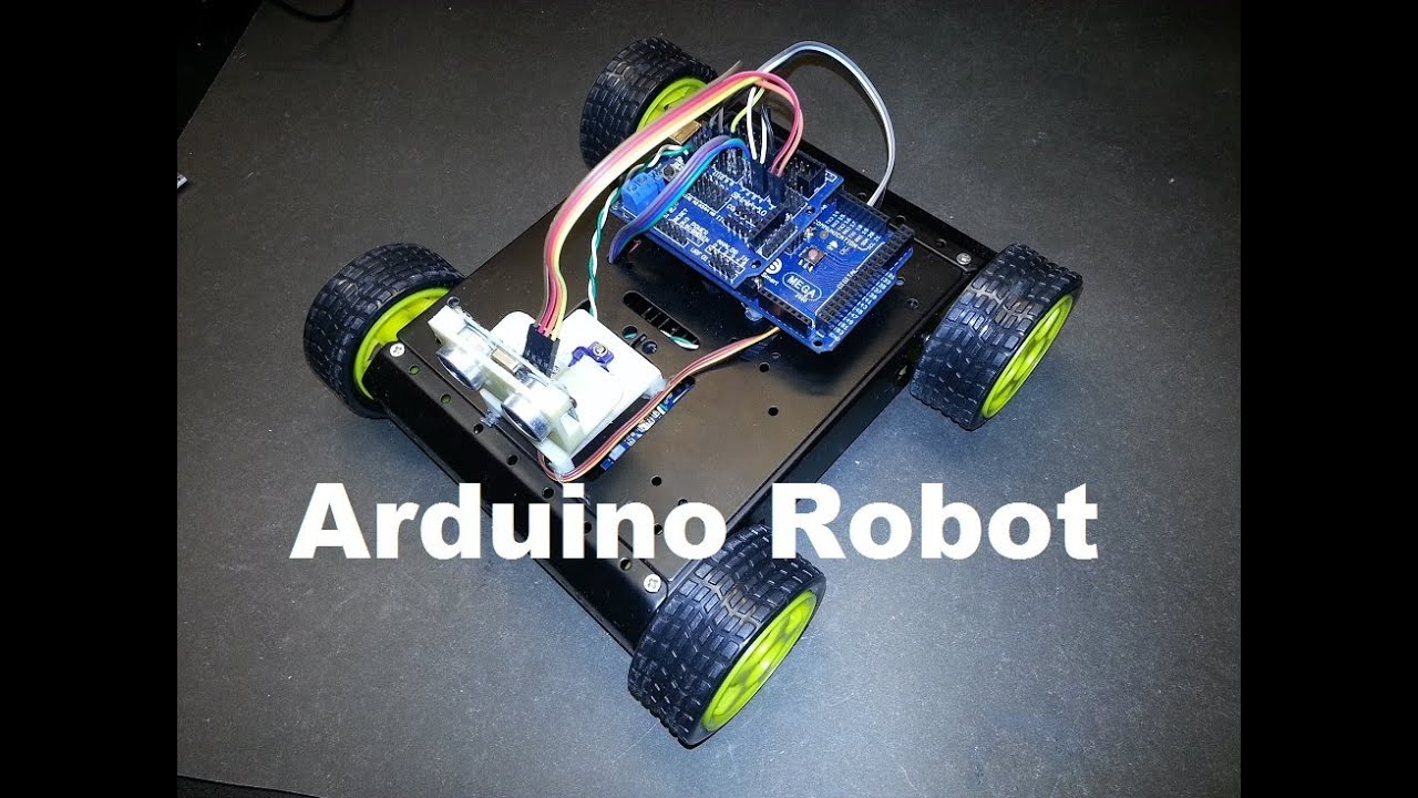 Arduino sainsmart wd robot update code modifications