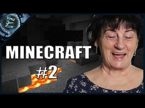 Nagyi reagál: MINECRAFT #2