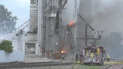 Video: South Sioux City elevator grain explosion