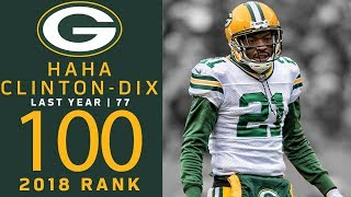 #100: Ha Ha Clinton-Dix (S, Packers) | Top 100 Players of 2018 | NFL