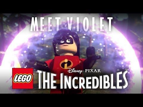 Meet Violet: LEGO Disney•Pixar's The Incredibles