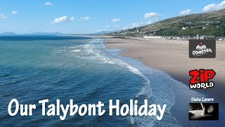 Talybont Holiday 2018 | Zip World Wales, Fforest Coaster, Tree Hoppers and Llanfair Slate Mine