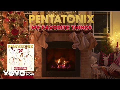 [Yule Log Audio] My Favorite Things – Pentatonix
