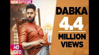 Dabka (Full ) | Harsimran feat Firoza Khan | Latest Punjabi Song 2018 | Speed Records