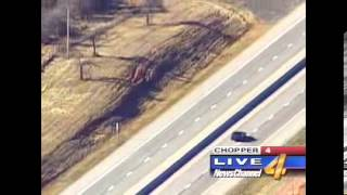 Stolen Impala SS Oklahoma highway police chase FULL video