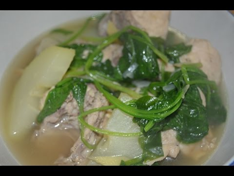 Chicken tinola filipino recipe with papaya chicken soup lutong chicken tinola filipino recipe with papaya chicken soup lutong pinoy youtube forumfinder Images