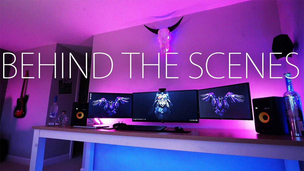 Ultimate Desk Setup Behind The Scenes Youtube