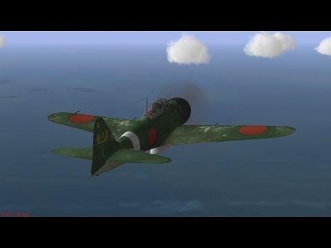 【IL-2】零戦 一撃離脱戦法
