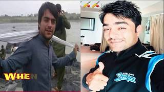 Famous Afghan Cricketer Rashid Khan | Poor to Rich | Rashid Khan Then and Now