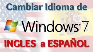 Como cambiar el idioma del windows 7 a español 100% garantizado | Trucos Windows 7
