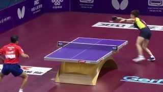 2015 WTTC MS-R16 Tang Peng - Lee Sangsu (full match|short form in HD)