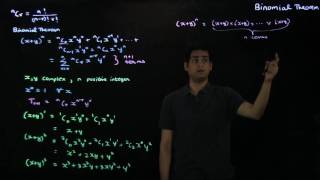 Video 3: The Binomial Theorem
