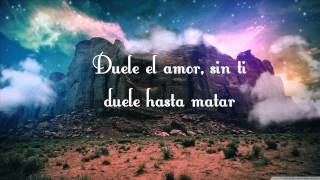 Aleks Sintek ft. Ana torroja - Duele el amor (con letra)