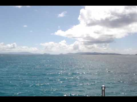 Anchored off Hans Lolick, U.S. Virgin Islands
