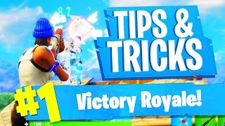 HOE WIN JE ELKE GAME? - Fortnite Battle Royale TIPS & TRICKS (Nederlands)