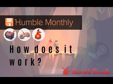 Humble Monthly - How Does It Work? Q&A