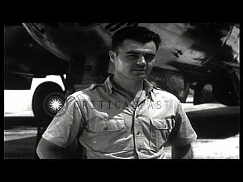 Colonel Paul Tibbets, Pilot of the Enola Gay, describes his mission dropping the ...HD Stock Footage