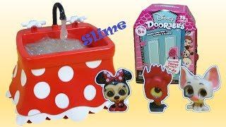 Novo Doorables da Disney! Slime na Pia de Sorvete da Minnie! Pua galo Rei Rei Moana Pt Br