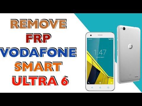 FRP VODAFONE SMART ULTRA 6 / BYPASS GOOGLE ACCOUNT VODAFONE SMART ULTRA 6