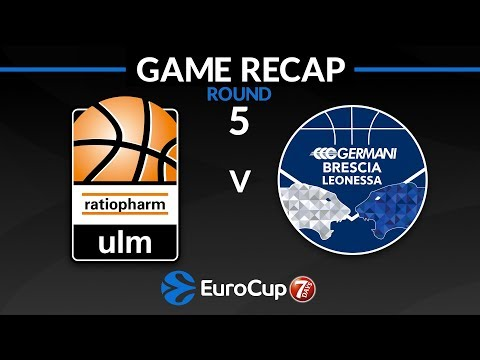Highlights: ratiopharm Ulm - Germani Brescia Leonessa