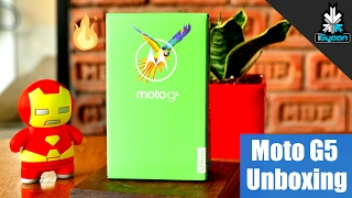 Moto G5 Unboxing and First Look