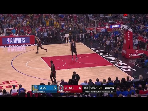1st Quarter, One Box Video: LA Clippers vs. Golden State Warriors