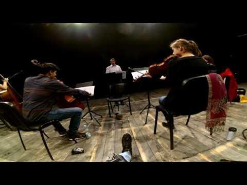 Próba orkiestry binauralnie (orchestra rehearsal in binaural technique)
