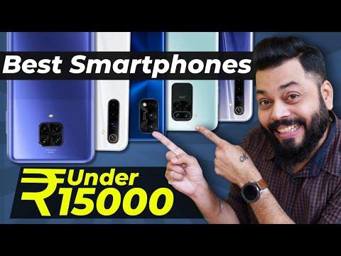 Top 5 Best Mobile Phones Under ₹15000 Budget ⚡⚡⚡ September 2020