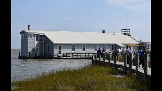 Fox Island Education Center loses battle with a rising Bay