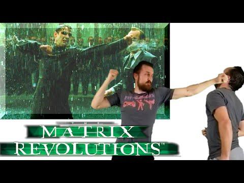 The Matrix Revolutions Final Fight | Neo vs Smith Fight Scene Breakdown