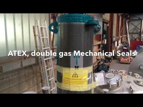 Installation of 4 JET type mixers by Mixel - Chemical industry 25464 (GB)