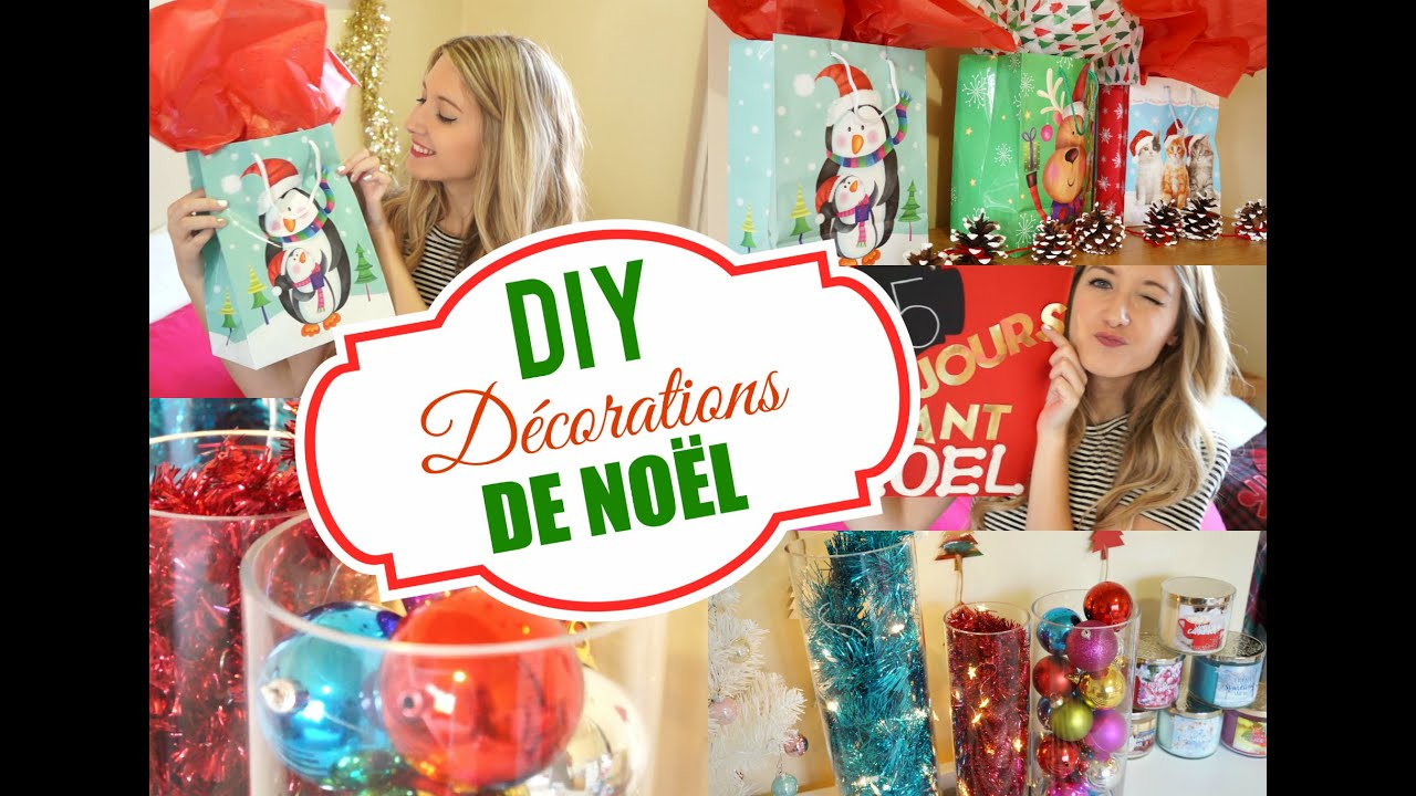 Diy d corations de no l faciles rapides et pas ch res for Youtube decoration de noel