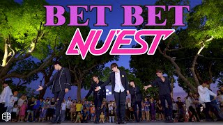 [KPOP IN PUBLIC CHALLENGE] NU'EST (뉴이스트) - BET BET Dance Cover by #FGDance from Vietnam