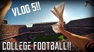 Vlog 5: Texas A&M College Football!! | TylersReelFishing